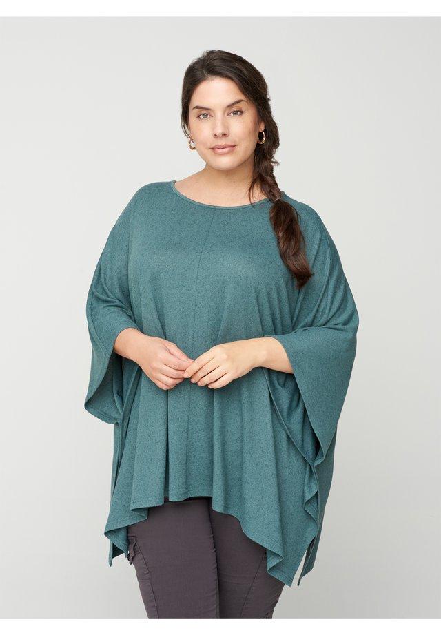 Poncho - green