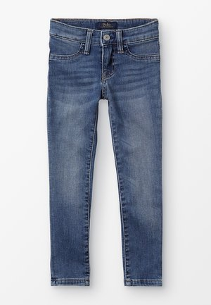 AUBRIE BOTTOMS - Vaqueros slim fit - lucinda wash