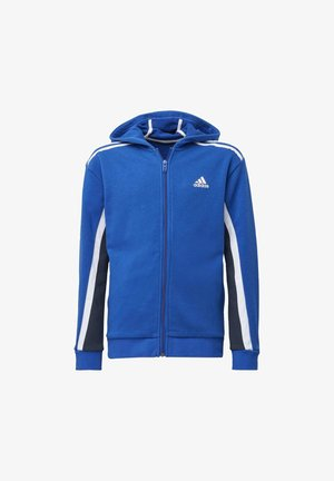 BOLD FULL-ZIP HOODIE - Zip-up hoodie - blue