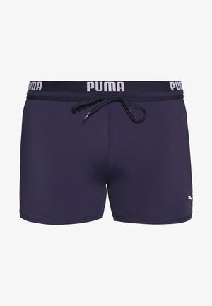 SWIM MEN LOGO TRUNK - Swimming trunks - navy