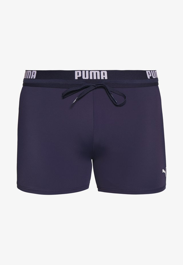 SWIM MEN LOGO TRUNK - Zwemshorts - navy