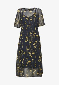 Soaked in Luxury - Maxi dress - navy/yellow - 7