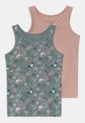 NMFTANK FLOWER 2 PACK - Undershirt - pale mauve