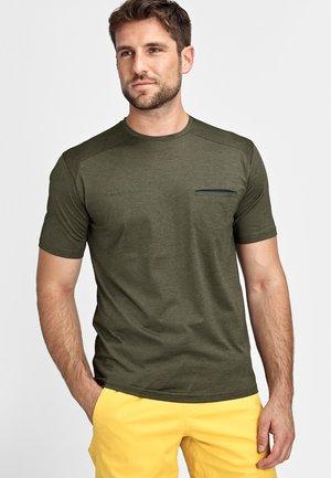 CRASHIANO - T-Shirt basic - iguana melange