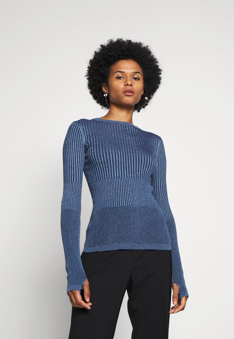 HUGO - SARRAH - Strickpullover - dark blue