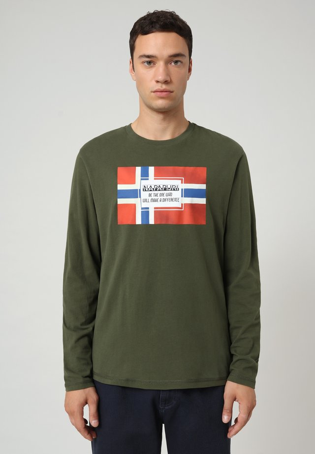 SERA  - Camiseta de manga larga - green depths