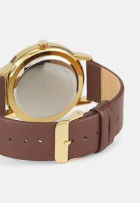 Pier One - LEATHER UNISEX - Watch - brown - 1