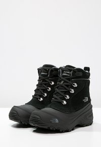 The North Face - Y CHILKAT LACE II - Winter boots - tnf black/zinc grey - 2