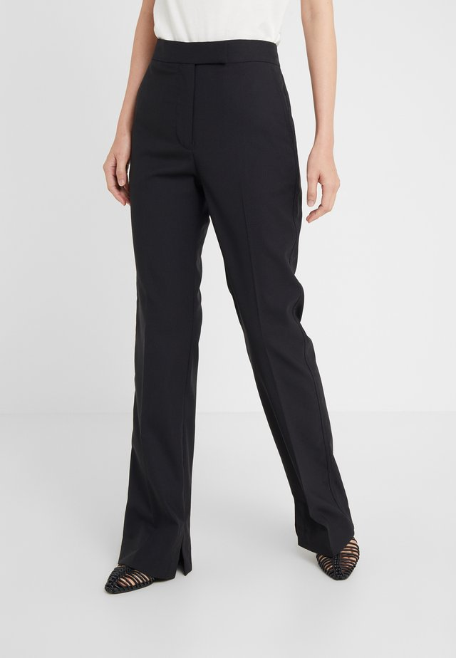 STRUCTURED PANT - Pantaloni - black
