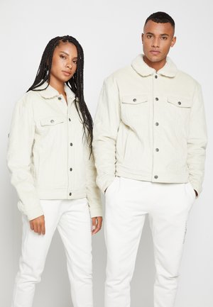 LEWIS HAMILTON UNISEX CORD TRUCKER JACKET - Light jacket - light silt