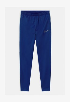 ACADEMY WINTERIZED - Tracksuit bottoms - dark blue/silver