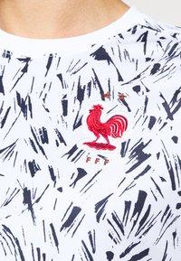 Nike Performance - FRANKREICH FFF - Article de supporter - white/blackened blue/university red - 5