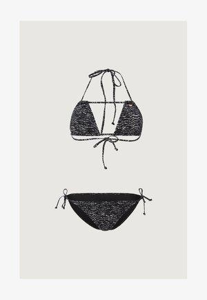 CAPRI BONDEY MIX SET - Bikini - black/grey