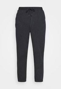 Casual Friday - PIERRE STRIPE PANTS - Trousers - navy blazer - 3