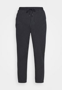 PIERRE STRIPE PANTS - Trousers - navy blazer