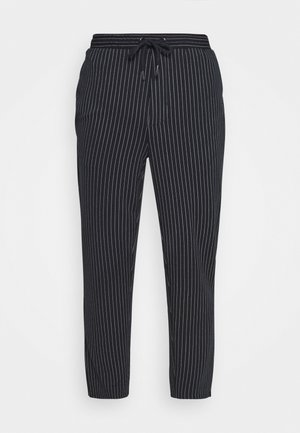 PIERRE STRIPE PANTS - Kangashousut - navy blazer