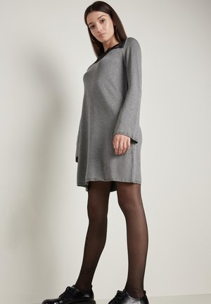 Day dress - grigio antracite mel