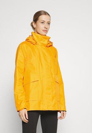 Waterproof jacket - saffron yellow