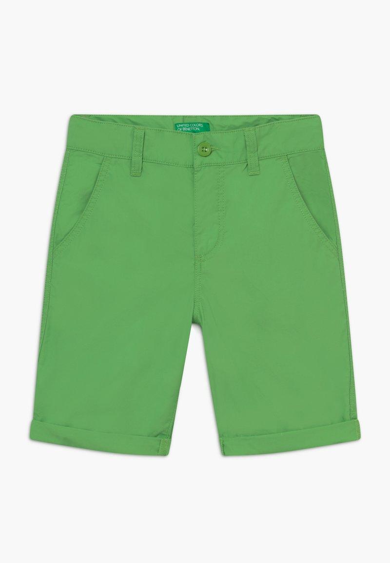 Benetton - BERMUDA - Kraťasy - green