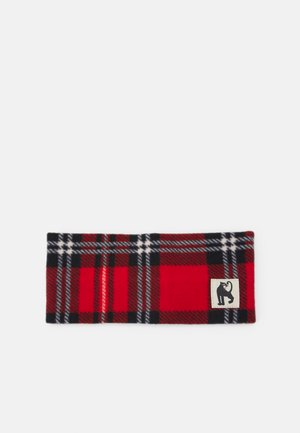 CHECK TUBE UNISEX - Sjaal - red