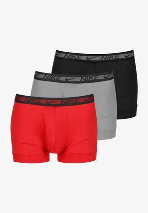 3 PACK - Pants - university red/grey/black