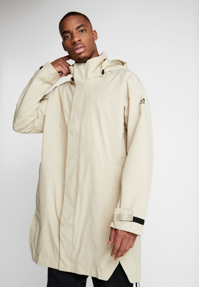 OUTERIOR URBAN RAIN.RDY  - Waterproof jacket - sand