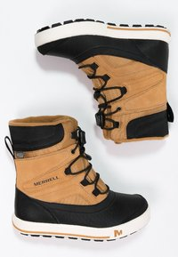 Merrell - SNOWBANK 2.0 WTPF - Winter boots - wheat/black - 1
