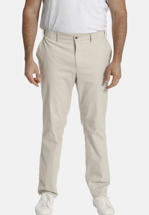 DUNWIN - Trousers - beige