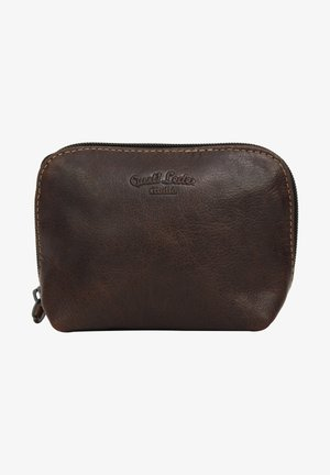 Wash bag - dark brown