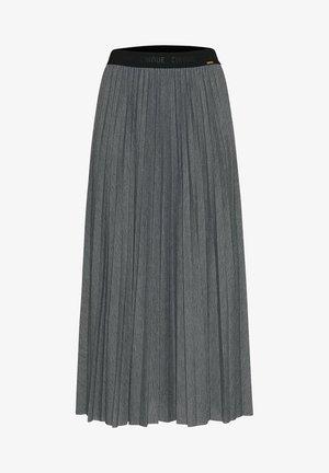 Pleated skirt - grau