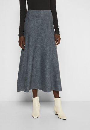 MURGO COSTINA MISTO LANA STRETCH - Áčková sukně - grey