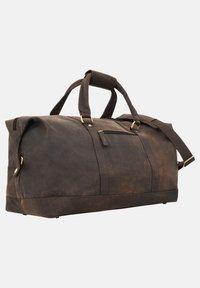 Gusti Leder - RUBEN - Weekend bag - walnut - 3