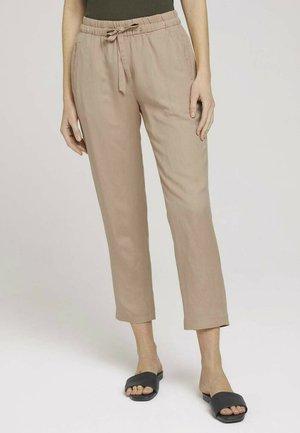 Trousers - desert linen