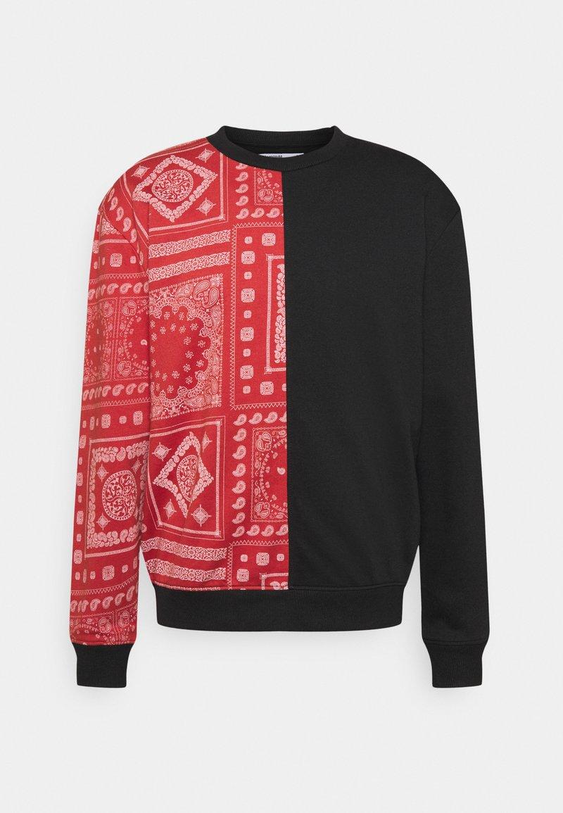 Nominal - SPLIT CREW - Sweatshirt - black