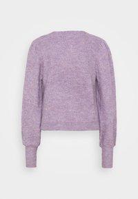 JDY - JDYDREA - Cardigan - lavender gray melange - 9
