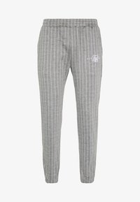 SIKSILK - Pantaloni sportivi - grey pin stripe - 4