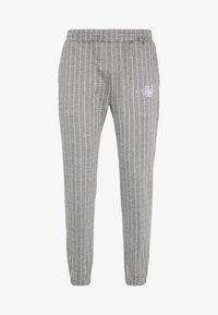 SIKSILK - Pantalon de survêtement - grey pin stripe - 4