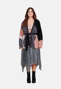 Fiorella Rubino - MIT PAILLETTEN - A-line skirt - grigio - 1