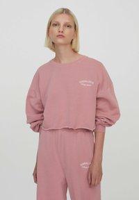 PULL&BEAR - Sweatshirt - rose - 0