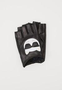IKONIK GLOVE - Rukavice bez prstů - black
