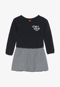 s.Oliver - Jersey dress - dark blue - 3