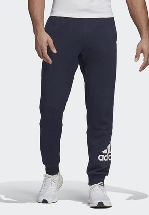 BADGE OF SPORT FRENCH TERRY JOGGERS - Pantaloni sportivi - blue