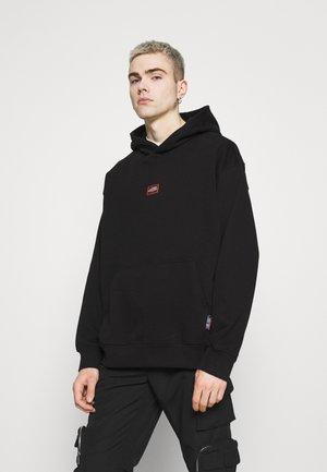 RICHARD LABELED HOODIE - Sweatshirt - black