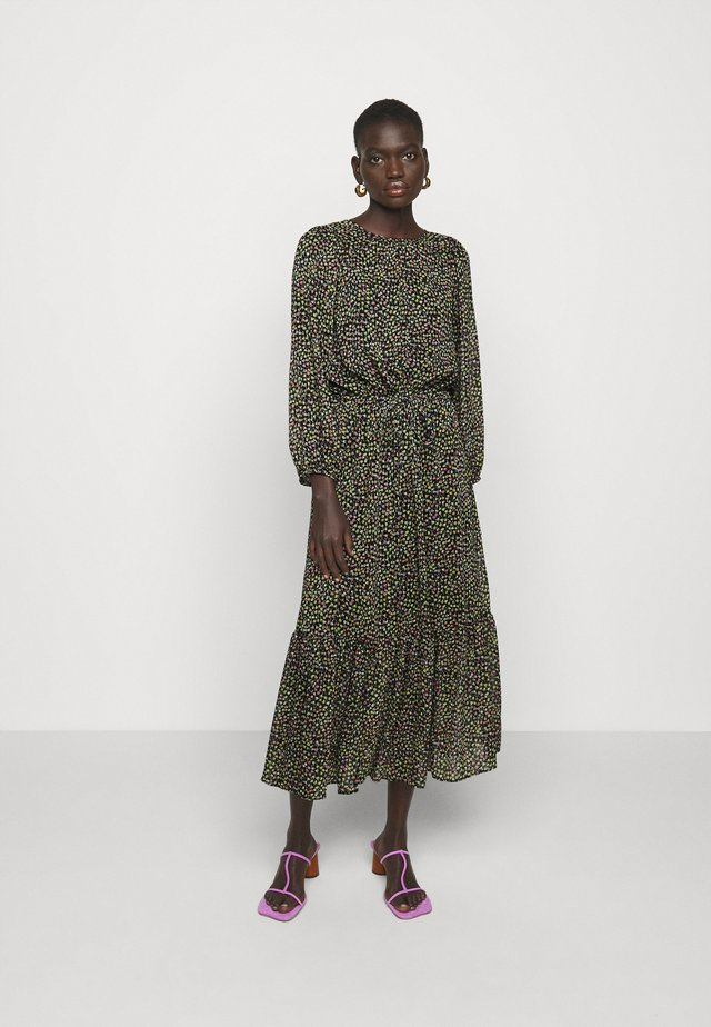 PRINTED PEASANT - Sukienka letnia - black/multi