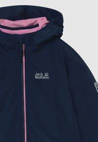 Jack Wolfskin - ICELAND 2-IN-1  - Outdoor jacket - midnight blue - 3