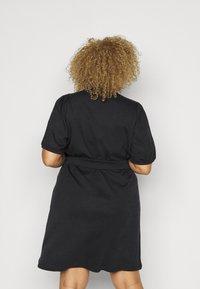 Vero Moda Curve - VMFOREST DRESS - Jersey dress - black - 2