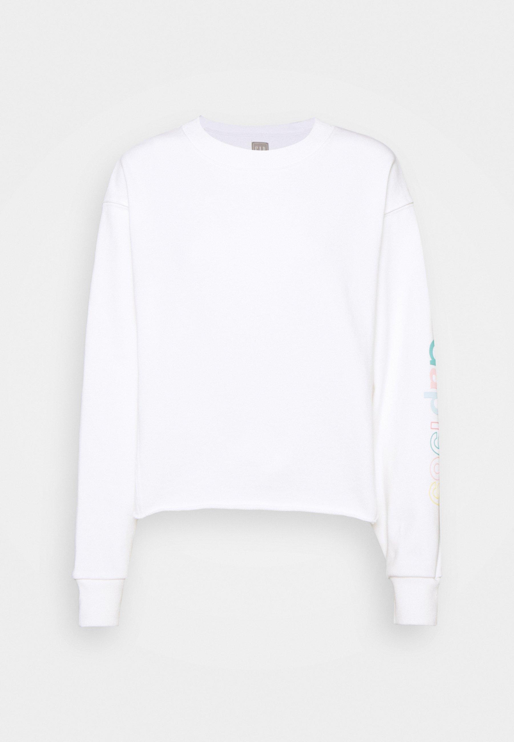 Women CROP RAW EDGE - Sweatshirt