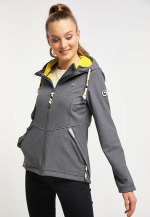 Outdoor jacket - anthracite melange