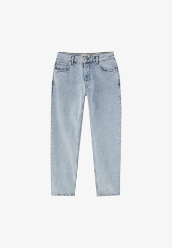 Relaxed fit jeans - blue-black denim