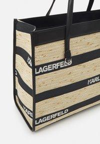 KARL LAGERFELD - SKUARE LARGE LOGO TOTE - Cabas - black - 3